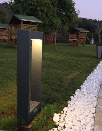 Rectangular Led Bollard