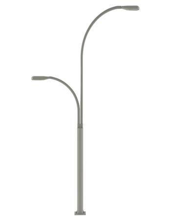Decorative street light pole led lighting steel street lamp post highway lighting standart lighting pole 7 m led luminiare street lamp post mozeypictures Images